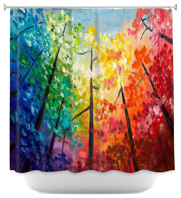 DiaNoche Designs Shower Curtain By Lam Tim