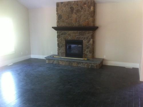 Custom Cabinet design help around fireplace hearth