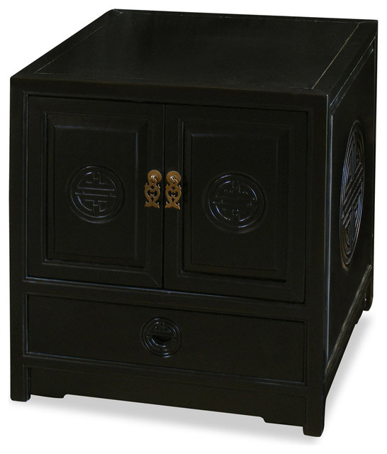 Elmwood Longevity Design Cabinet - Asian - Accent Chests And Cabinets - by China Furniture and Arts