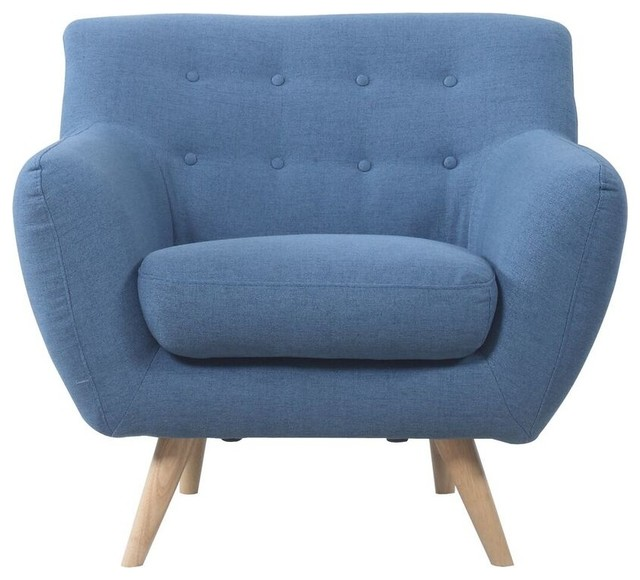 Gerald Accent Chair, Blue