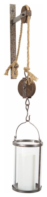 Pulley Mounted Canister.