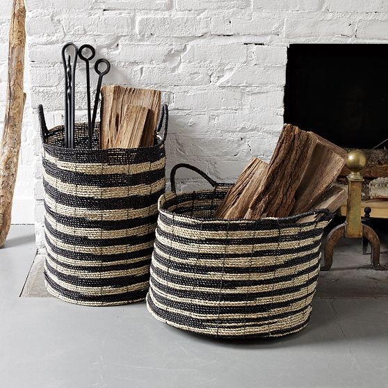 baskets Ikat Baskets