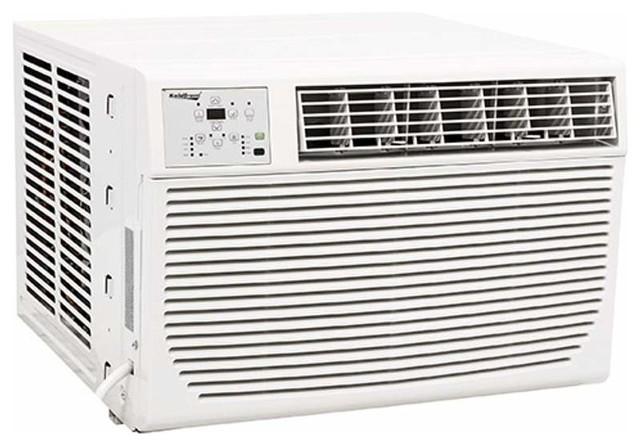 Koldfront WAC8001W 8000 BTU 115V Window Air Conditioner - White