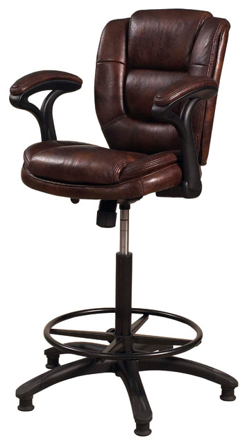 Jackson Adjustable Swivel Bar Stool Transitional Bar
