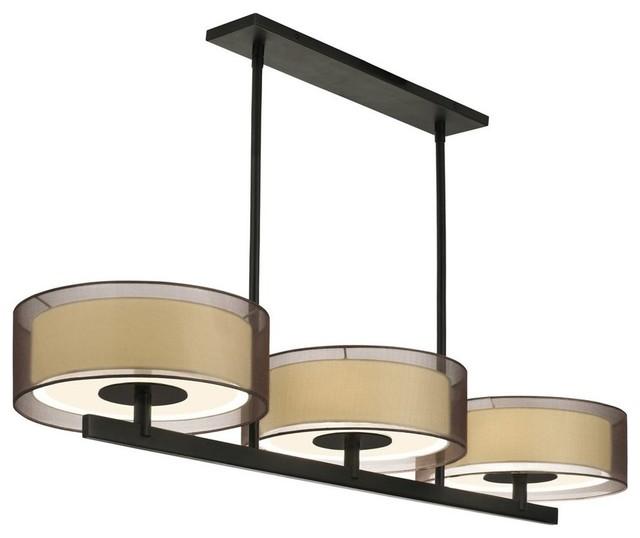 Pool Table Light Modern: Sonneman Lighting Puri Modern/ Contemporary Kitchen Island