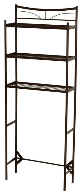 "Hawthorne 24-1/2"" Spacesaver With 3-Shelf, Oil Rubbed Bronze."