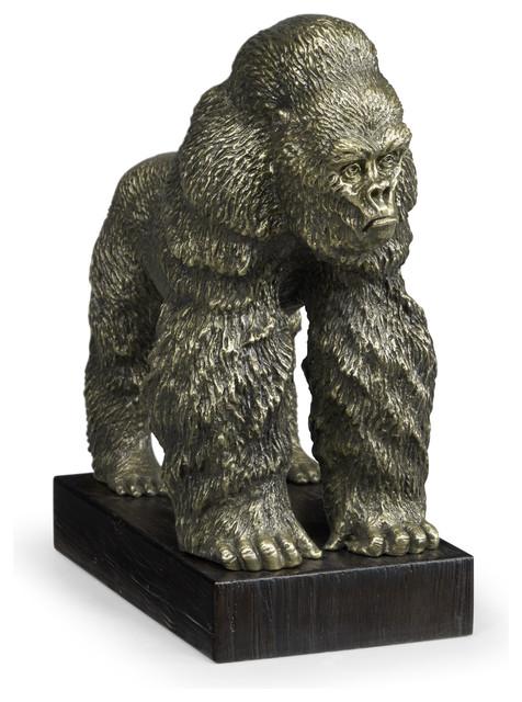 Sculpture Moderne art contemporain// statue design décoration intérieur King Kong