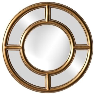 Howard Elliott Grisham Gold Leaf Mirror