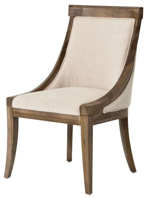 Metro Florence Dining Chair, Bespoke Natural.