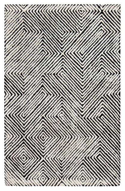 Anji Mountain Hestia Natural Fiber Area Rug, Rectangular 5&x27;x8&x27;.