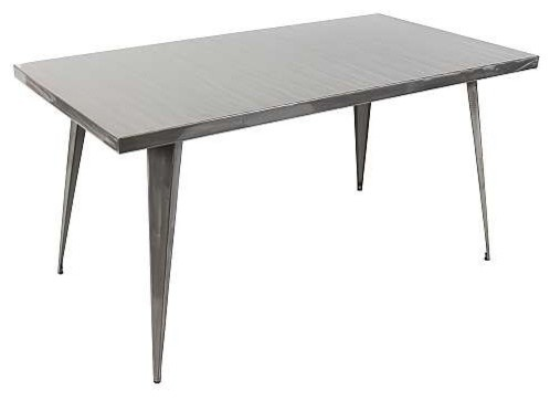Austin Dining Table Industrial Dining Tables By