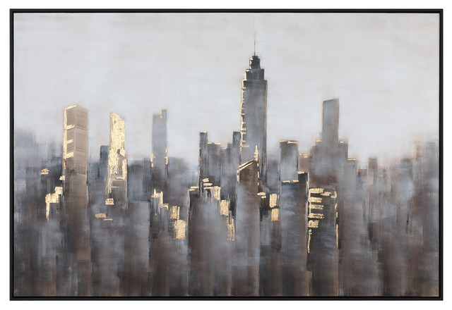 Uttermost Skyline Modern Art