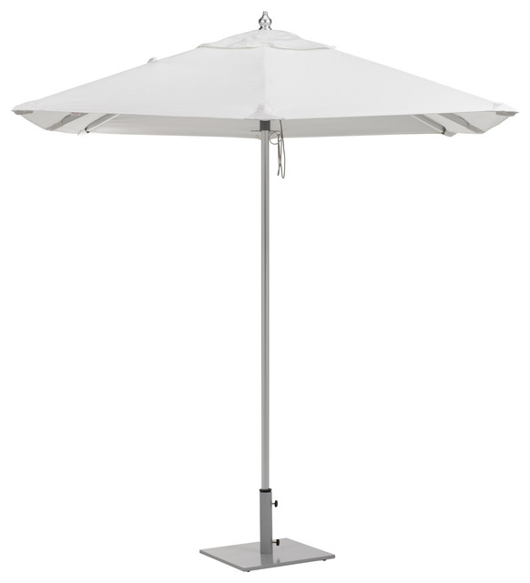 6 5 Square Sunbrella Market Umbrella Contemporary