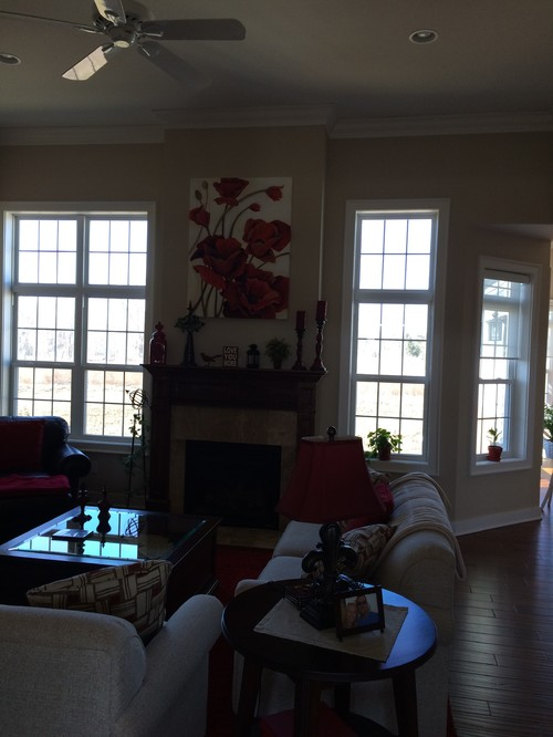 I Especially Feel Like I Need Window Treatments On The Two Great Room  Windows, Which Are On Either Side Of The Fireplace. Advice And Suggestions?