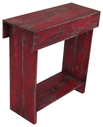 Red Entry Table