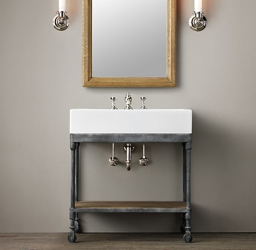 Faucet For This Sink Console (used In Laundry Room)?