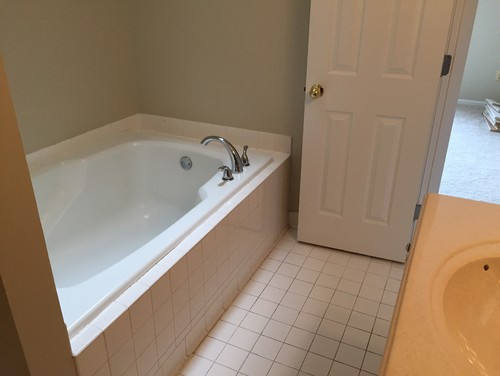Remove Tub For Double Sink Vanity And Big Shower