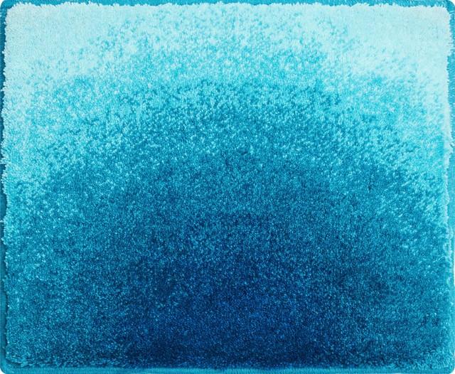 Small Sunshine Bath Mat, Turquoise, 50x60 cm