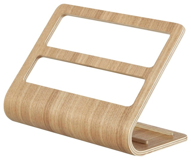 Rin Plywood Remote Controller Rack Wide, Beige.