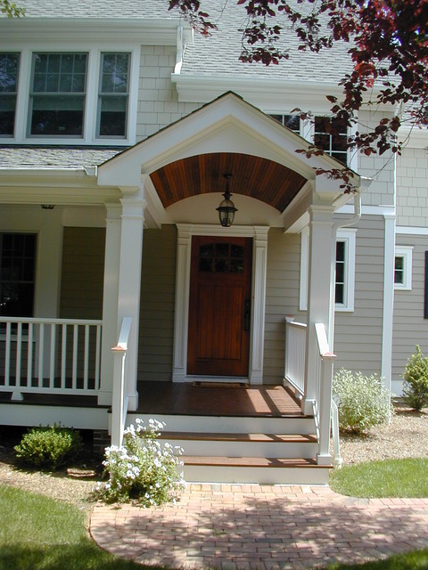 1950 S Cape Expansion Traditional Porch New York