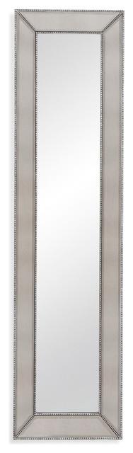 Beaded Leaner Mirror. -1