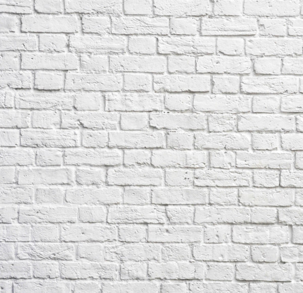 Classic White Bricks Wallpaper - Wallpaper - by NumerArt - Custom Murals from Exclusive Images