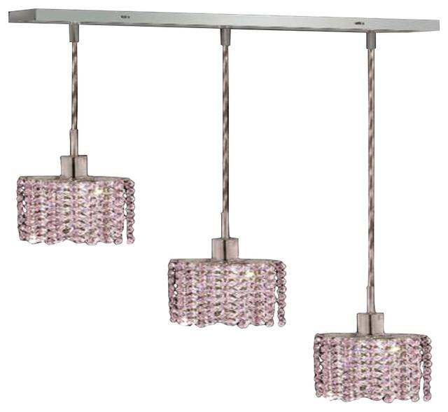 Elegant Lighting 1283D O E BO RC Mini Pendants