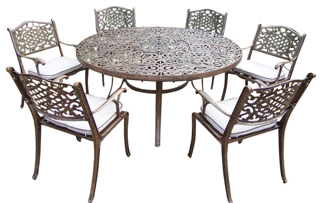 Oakland Living 7 Pc Outdoor Dining Set amp Reviews Houzz : contemporary outdoor dining sets from www.houzz.com size 640 x 404 jpeg 85kB