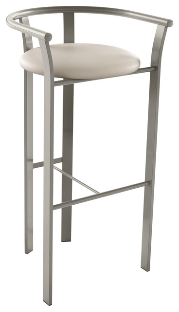 Pleasant Lolo Metal Stool Beige Faux Leather Matt Light Grey Metal Counter Height Gmtry Best Dining Table And Chair Ideas Images Gmtryco