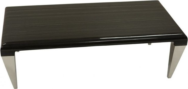 Chow Coffee Table, Black Contemporary Coffee Tables