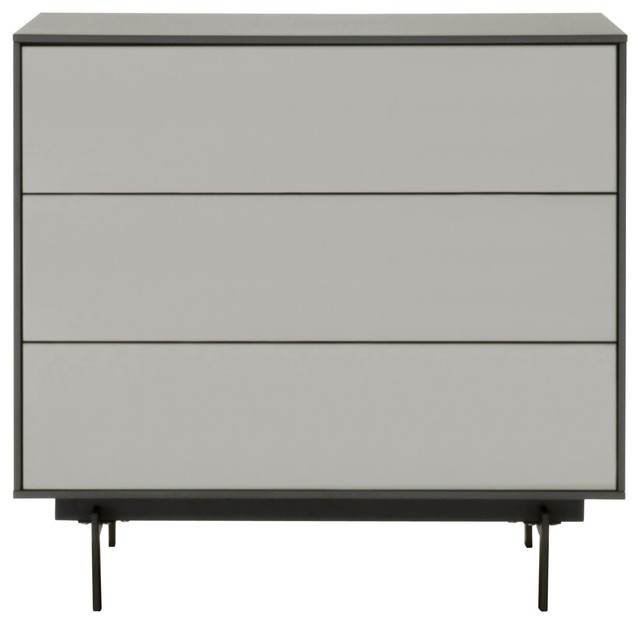 Symphony Tv Stand With Drawers, Matte Gray.