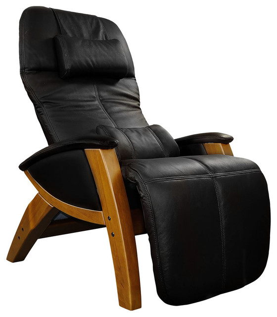 Svago Lusso Leather Zero Gravity Recliner Contemporary Recliner Chairs