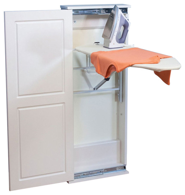Ironing Board Storage Cabinet.