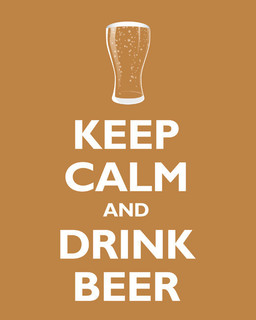 Keep Calm and Drink Beer - Contemporary - Prints And Posters - by Keep ...