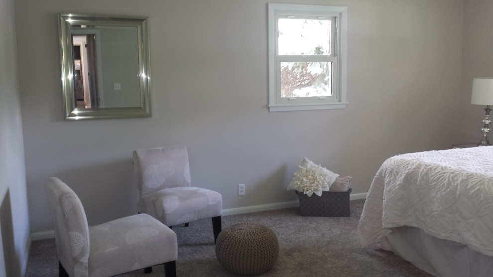 After sitting area in bedroom