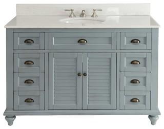 vanity set light blue 49 farmhouse bathroom vanities and sink