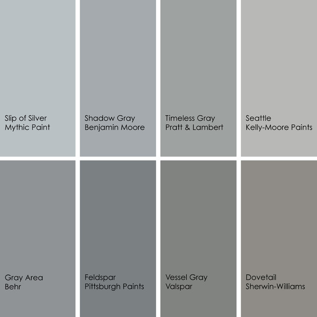 Color On Houzz Gray Decorating Tips