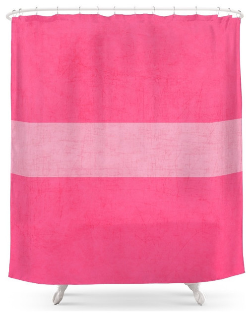 The Pinks, Classic Shower Curtain - Contemporary - Shower Curtains ...