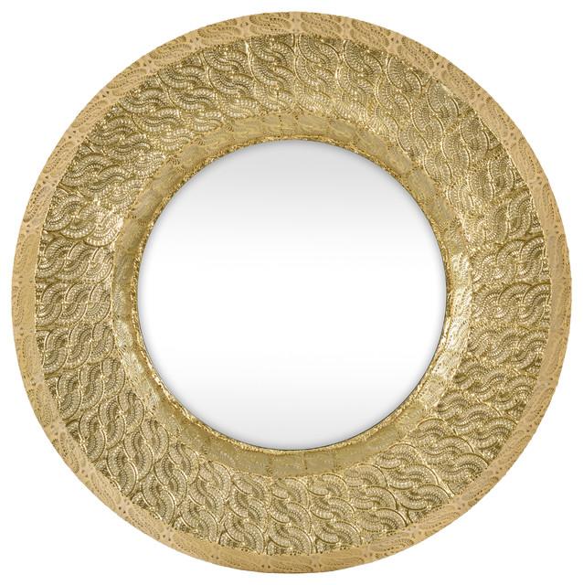 Marrakesh Mirror, Round, 80x80 cm