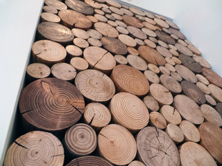 Decorative Logs Display In Residential House (Manchester UK)   Contemporary    West Midlands   By The Little Log Company