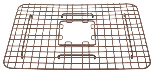"SinkSense Spencer 15""x13.05"" Grid for Kitchen Sinks, Antique Brown"