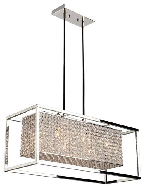 artcraft lighting ac10326 vega chandelier stainless steel