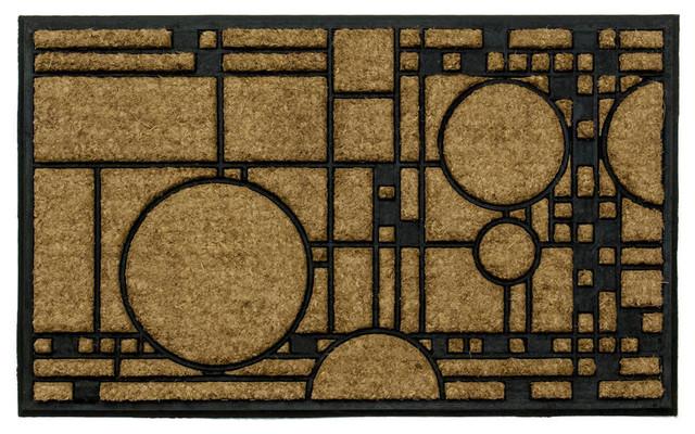 Frank Lloyd Wright Coonley Playhouse Doormat Craftsman Doormats