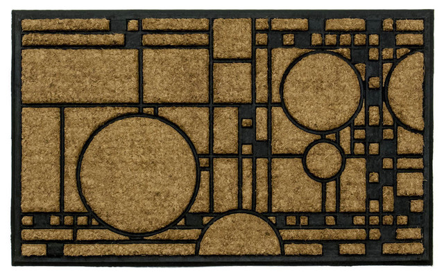 Frank Lloyd Wright Coonley Playhouse Doormat.