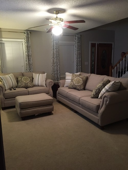 Or A Couch With Chase And Then 2 Separate Recliners Somewhere But Not Sure How To Place Furniture The Layout Any Help Would Be Appreciated