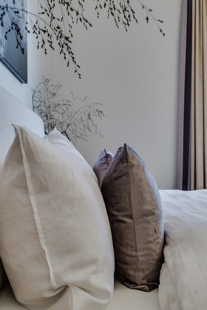 卧室白色细节北欧风格装饰设计图片