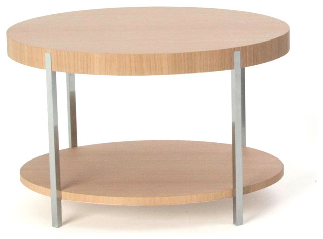 Bensen Munro Oval Occasional Table - Modern - Nightstands And Bedside Tables - Los Angeles - by ...