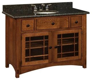 Springhill Bathroom Vanity - Craftsman - Bathroom Vanities And Sink Consoles - by Amish Showroom