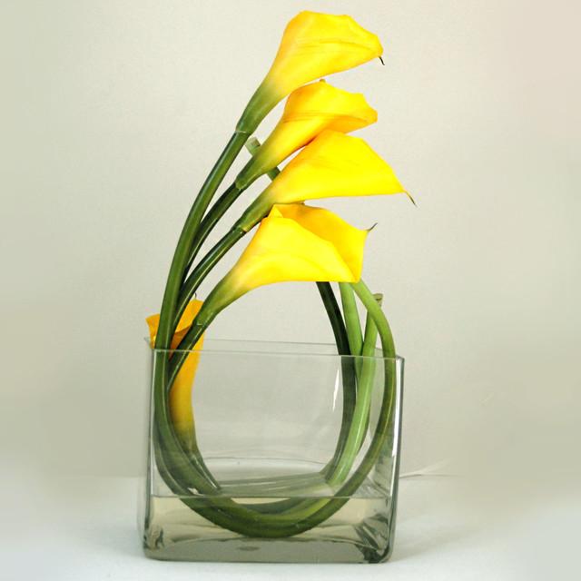 Lily faux floral arrangements amp centerpieces for home decor modern