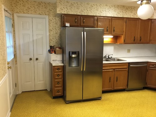 1970\'s kitchen rehab